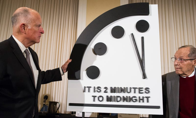 Illustration for article titled El Reloj del Apocalipsis indica que estamos a tan solo dos minutos del fin del mundo tal y como lo conocemos