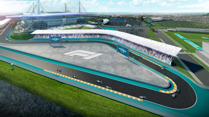 Illustration for article titled F1 Strikes Preliminary Deal To Hold 2021 Race At Miami Dolphins Stadium