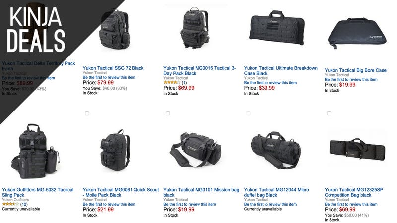 Illustration for article titled Save Big on Tactical Bags and Cases, Today Only