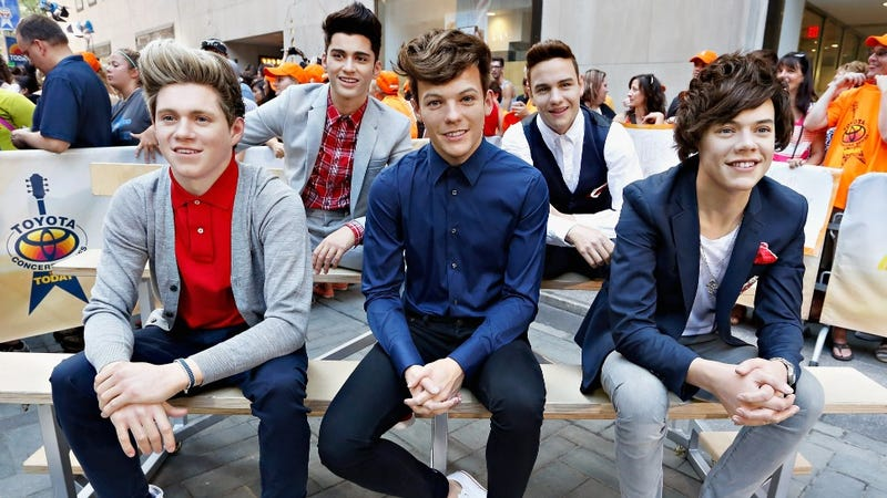Illustration for article titled One Direction Wax Figures Enthrall Adolescent Wax Girls Everywhere