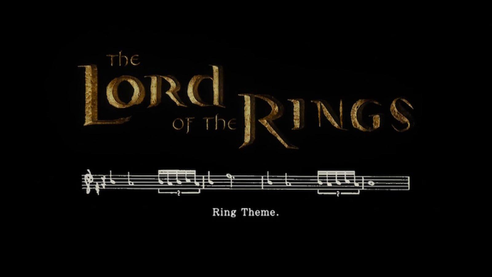 La banda sonora de El Señor de los Anillos es una genialidad, y este vídeo lo demuestra