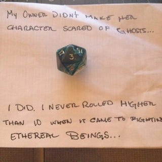 Illustration for article titled RPG Dice Shaming, Part 2
