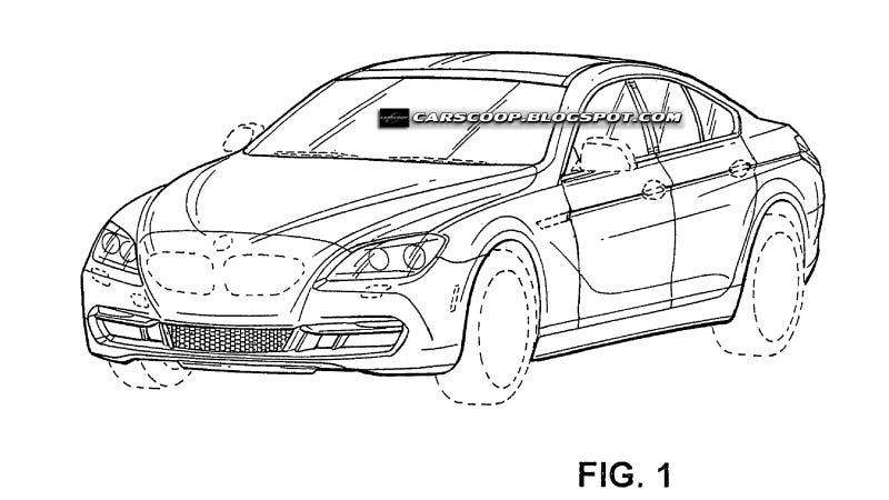 Illustration for article titled This is BMW's four-door 6 Series
