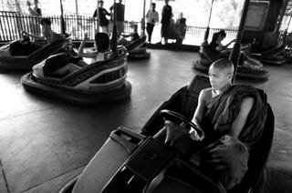 Illustration for article titled And Now, For A Moment Of Bumper Car Zen