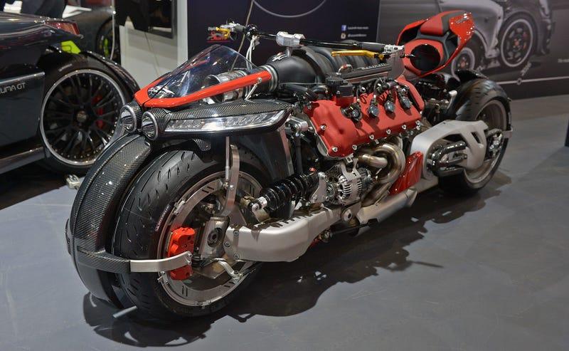 Esta Potente Moto De Ocho Cilindros Y Motor Maserati Es 1762468124