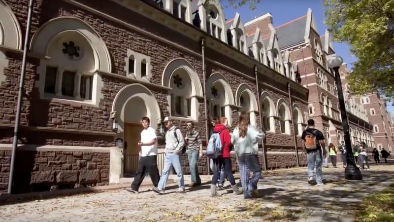 Trinity College (YouTube screenshot)