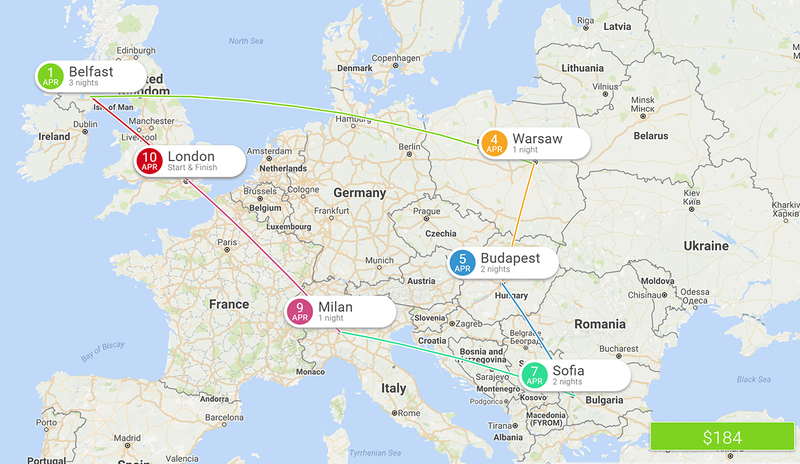 Eightydays Plans A Multi City European Trip For You