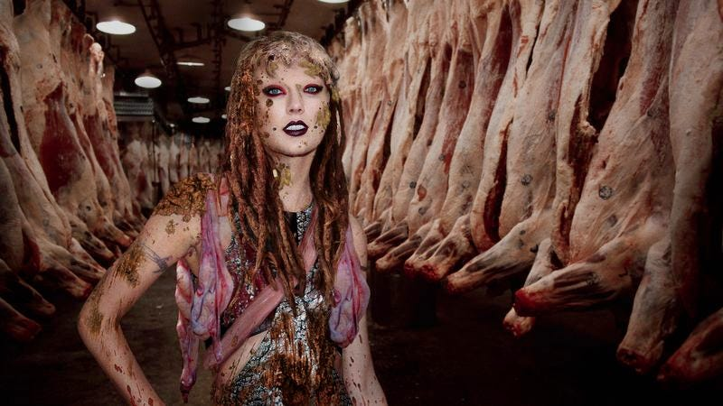 Illustration for article titled Taylor Swift Unveils Even Darker Persona With New Single 'Skullfucking Maggot Shit Boyfriend'