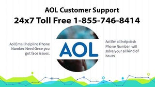Illustration for article titled AOL Customer   Support Phone 1-855-746-8414  Number