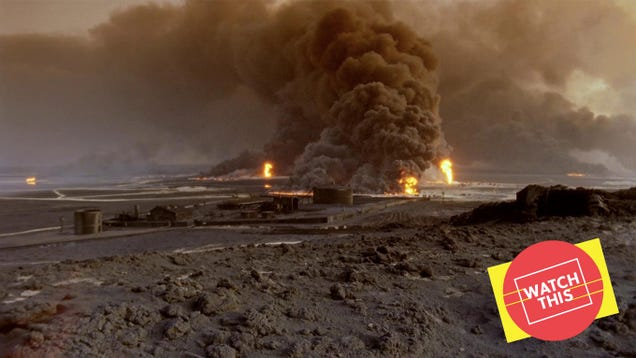 With Lessons Of Darkness, Werner Herzog turned the Gulf War into science fiction