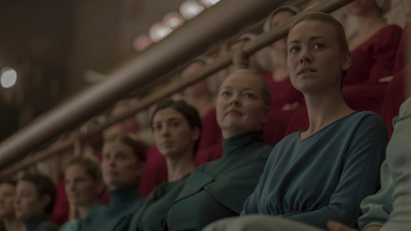 Serena Joy (Yvonne Strahovski) takes part in yet another weird Gilead ritual.