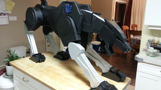 Illustration for article titled A Giant Foam Ravage Is The Ultimate TransformersKitchen Accessory
