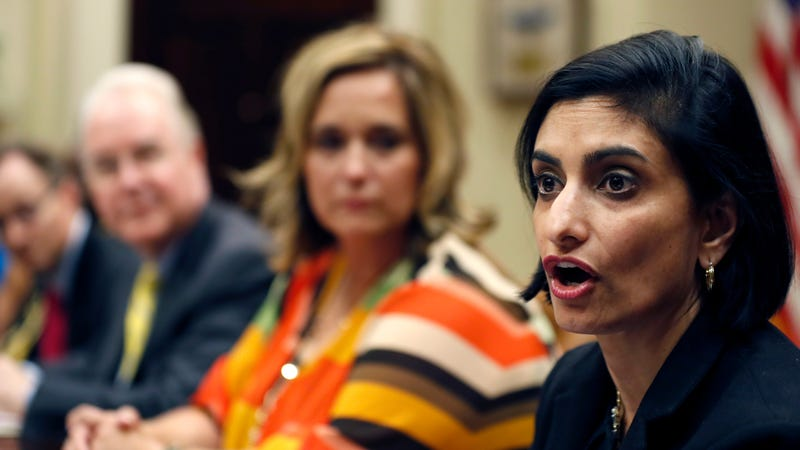 Centers for Medicare and Medicaid Services administrator Seema Verma (Image via AP)