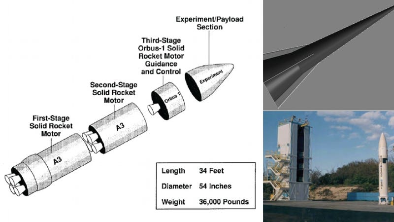 Illustration for article titled Army Tests Its Own Secret Supersonic Attack Vehicle