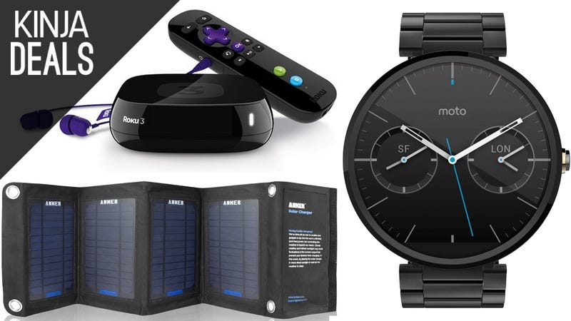 Illustration for article titled Today's Best Deals: Streaming Boxes, Smart Watches, and a Lot More