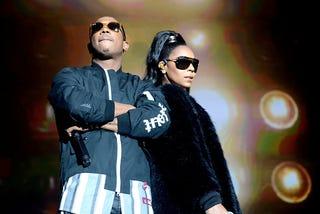 Ja Rule and Ashanti perform onstage in Inglewood, Calif., on  April 22, 2017.
