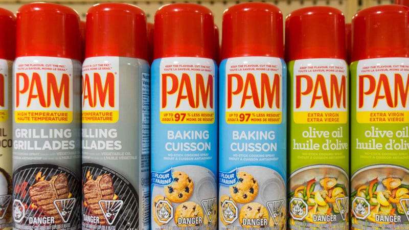 Illustration for article titled Bold Strategy: PAM Is Now Marketing Its Cooking Spray As Bug Spray Too Since You Gotta Figure That Anything You Spray At A Bug For A Few Seconds Should Kill It