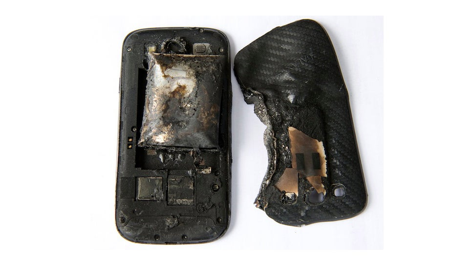 Your This graphic When Explodes A Phone Leg What Is On Happens