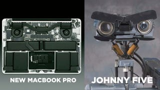 Illustration for article titled The New Macbook Pro Looks Just Like A Certain 80s Film Star
