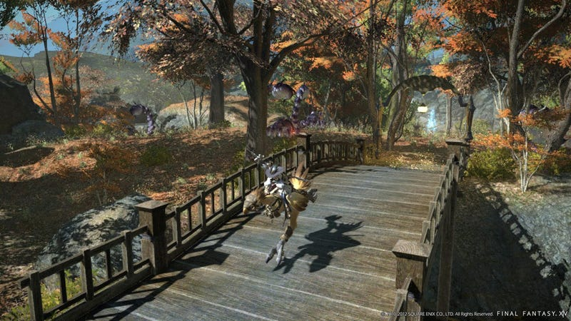Illustration for article titled Fresh Final Fantasy XIV Screenshots and Concept Art Dazzle