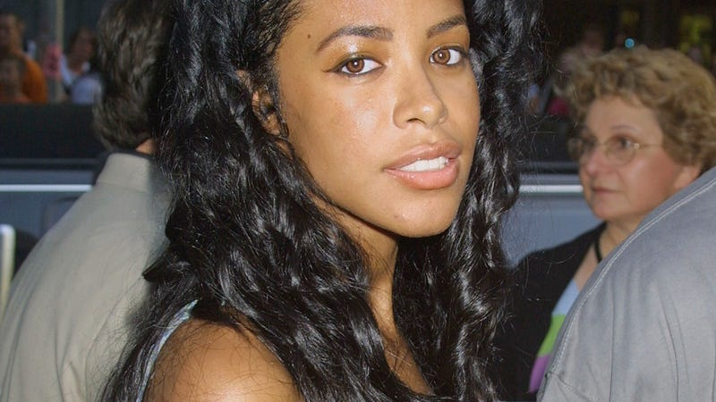 Aaliyah in New York on July 23, 2001  (George De Sota/Getty Images)