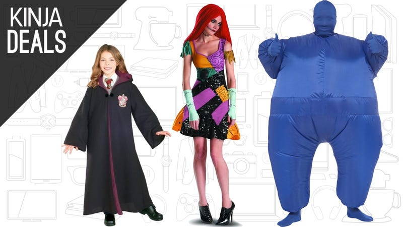 Illustration for article titled Procrastinators, Rejoice! Amazon's Offering Free One-Day Shipping on Halloween Costumes