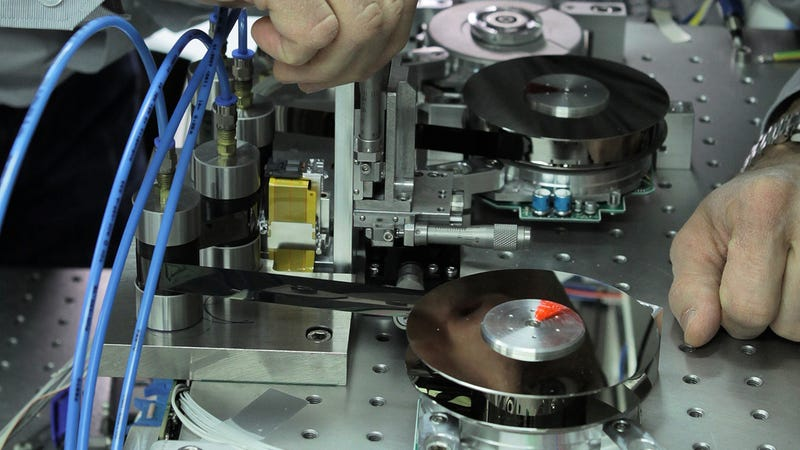 Illustration for article titled IBM Can Now Squeeze a Record-Setting 220TB On a Cassette Tape