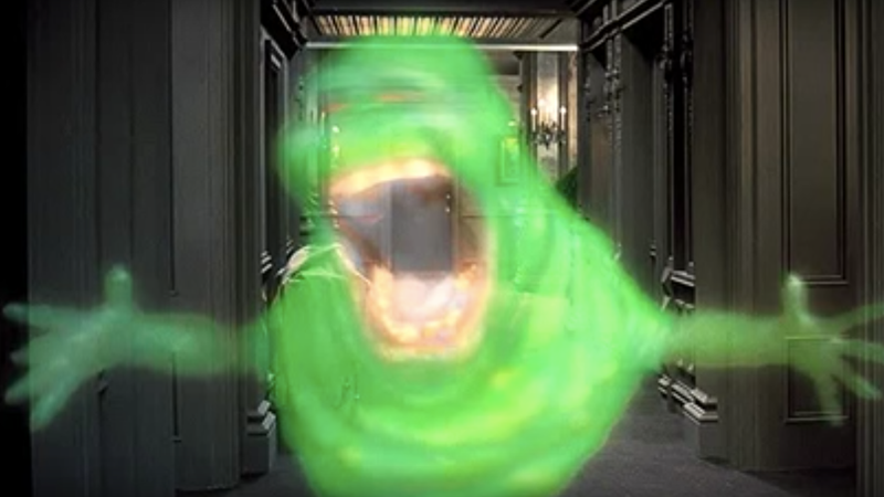 Illustration for article titled Ghostbusters' Slimer was created in a cocaine frenzy, artist who made him says