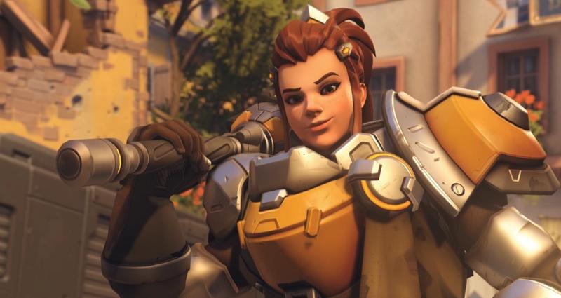Overwatch's Brigitte