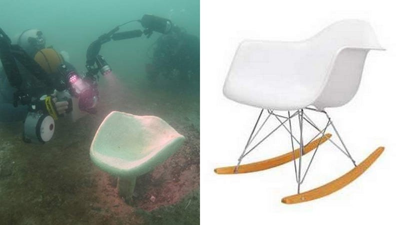 Illustration for article titled Giant Sea Sponge and Possible Eames Inspiration Rediscovered in Singapore