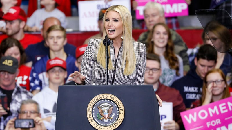 Illustration for article titled Ivanka Trump Says She Has Experienced Tremendous Personal Growth Working for an Administration that Tear Gasses Children