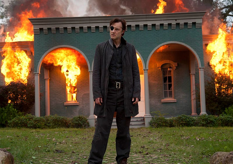 Illustration for article titled The Governor returns in the first crappy Walking Dead of the season
