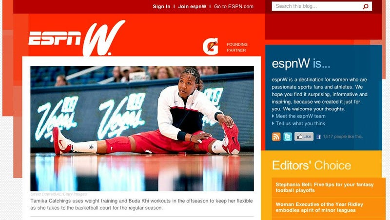 Illustration for article titled Features Of The New espnW.com