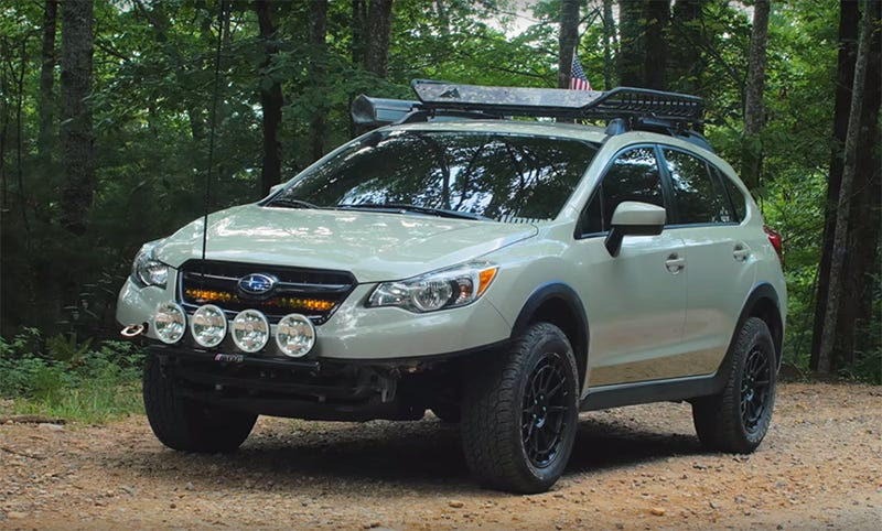 hell yeah lifted subaru crosstrek. Black Bedroom Furniture Sets. Home Design Ideas
