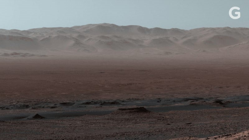 NASA's Curiosity Rover Captures Breathtaking Panorama of ...