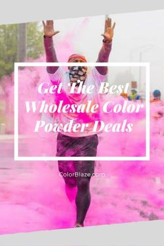 Illustration for article titled Get The Best Wholesale Color Powder Deals With Color Blaze