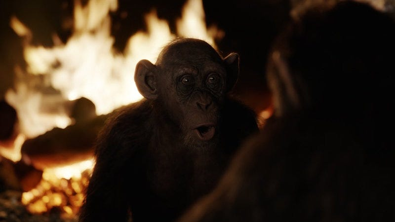 'War for the Planet of the Apes' New Clip: Meet Bad Ape