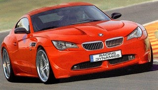 Illustration for article titled New BMW Supercar, the M10, Coming in 2009? Tuner Version Already Planned?