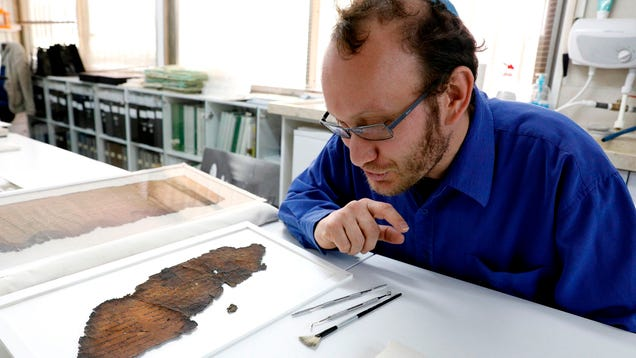 Newly Discovered Scrolls Suggest Jesus Devoured Twin Messiah In Womb