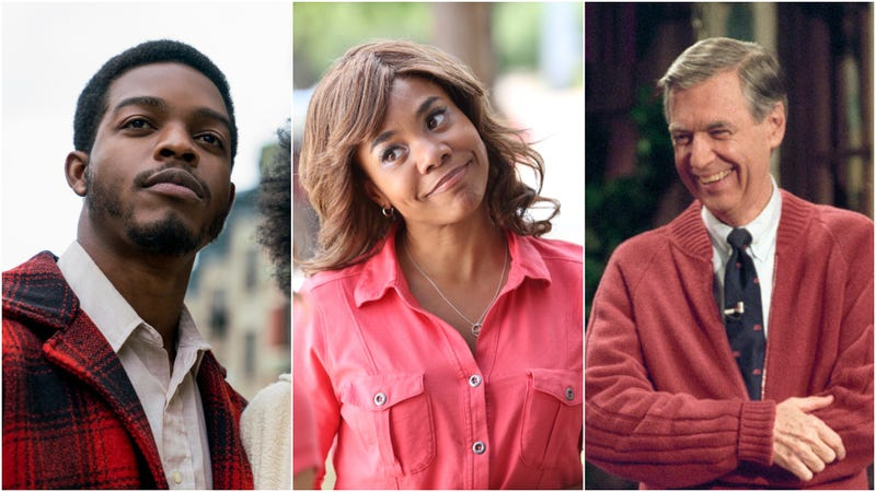 Left out or otherwise ignored (l to r): If Beale Street Could Talk, Support The Girls, and Won't You Be My Neighbor?