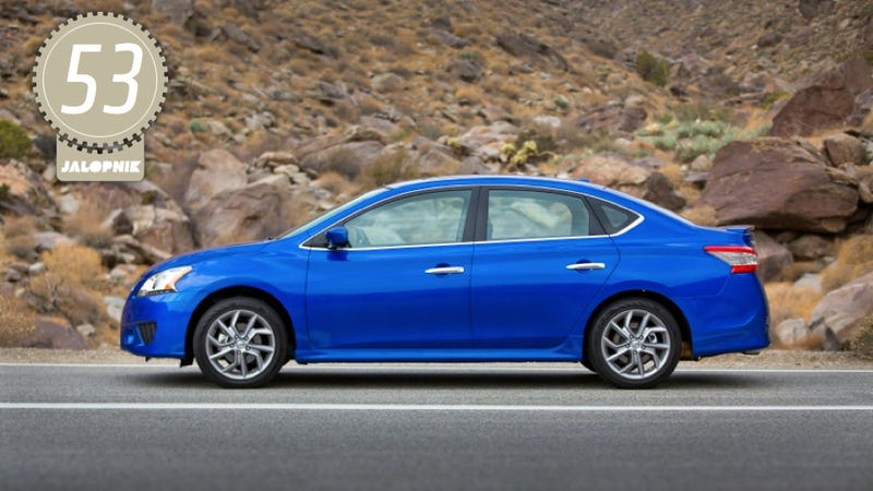 Illustration for article titled 2013 Nissan Sentra: The Jalopnik Review