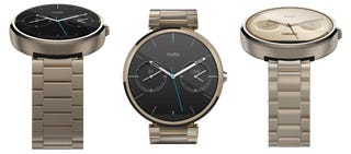 Illustration for article titled Motorola's Gold Moto 360 Is Real, and So Is Its Activity Tracking App