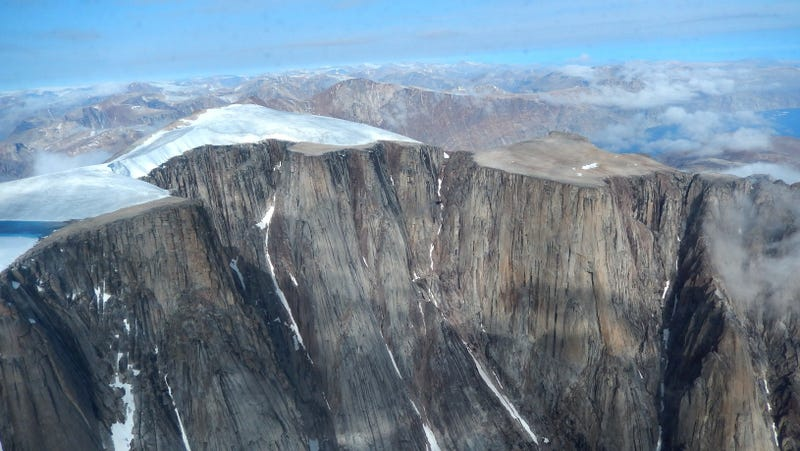 Glaciers and ice caps on Baffin Island in Arctic Canada have been retreating dramatically in the past decades, revealing ancient landscapes that have possibly been ice covered for about 115,000 years.
