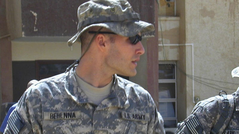 Former 1st Lt. Michael Behenna, seen here in 2008, has received a presidential pardon for his 2009 conviction in the killing of Ali Mansur, an Iraqi civilian.