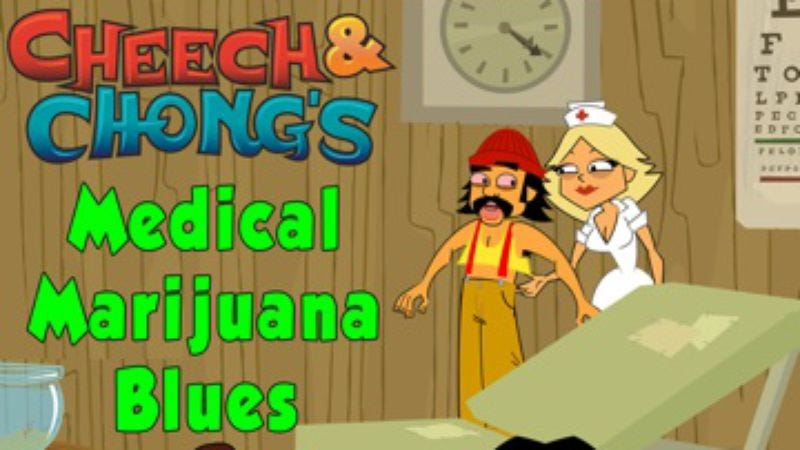 "Illustration for article titled Bong up for 4/20 with a ""high-larious"" new track from Cheech And Chong"
