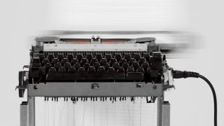 Illustration for article titled Automated Typewriter Creates Never-Ending Story, Honoring Journalists Killed on Assignment