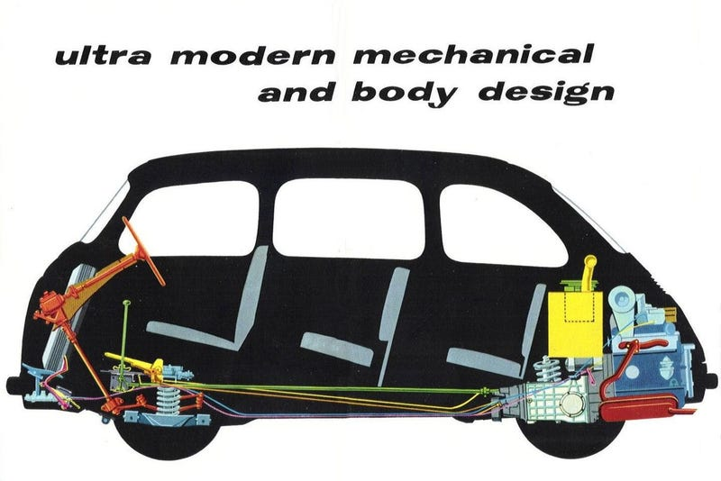 Illustration for article titled Ultra modern mechanical and body design