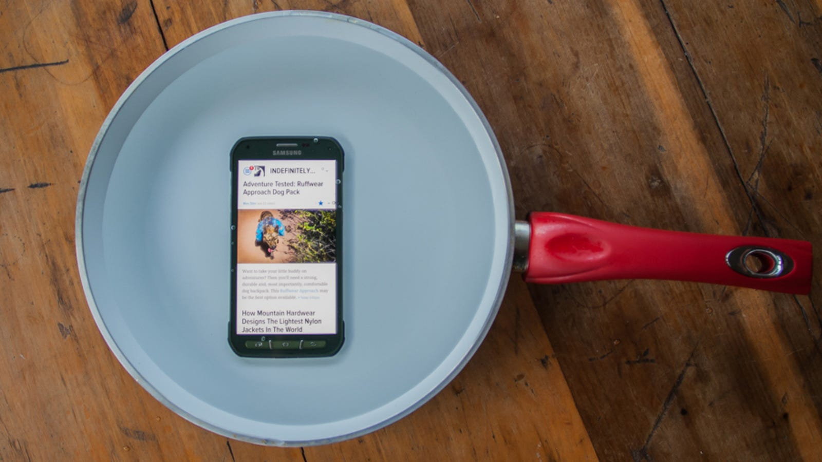 Adventure Tested: Samsung Galaxy S5 Active Review