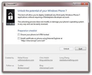 Illustration for article titled Windows Phone 7 Gets Jailbroken