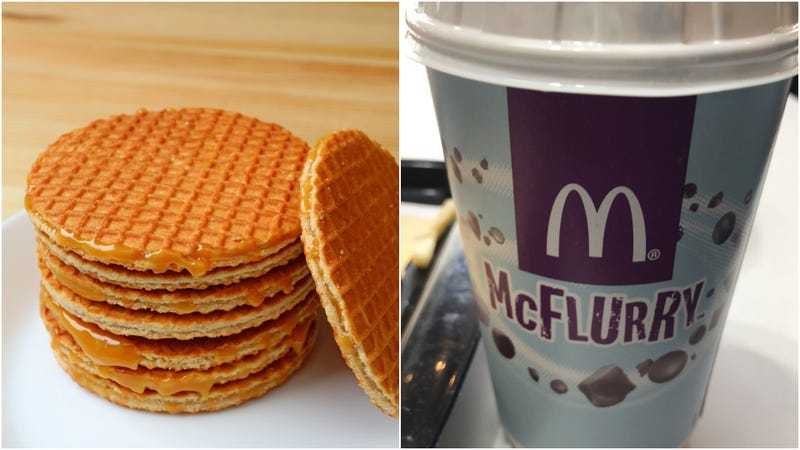 Illustration for article titled The McDonald's Stroopwafel McFlurry rumors are true [Updated]